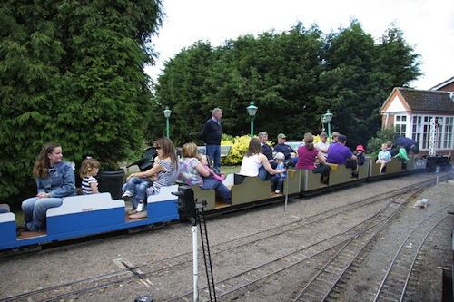 Full Steam Ahead For Hemsby Miniature Railway