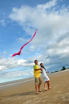 Tips for kite flying in Hemsby